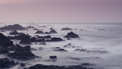 Cumbres del mar (10/53) (A. del Campo) Tags: nikon nikond7000 nikkor niebla fog longexposure largaexposición landscape seascape paisaje marcantábrico mar sea rocas rocks efectoseda horizonte naturaleza nature naturallight luz luznatural light shadows sombras españa spain asturias invierno winter sunset atardecer agua water waves olas cielo sky clouds nubes cantábrico colores contraluz colors color día orilla panorámica playa beach principadodeasturias seascapes weather mood