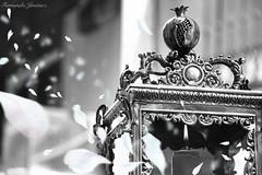 Semana Santa Granada 01 (alanchanflor) Tags: plata semansanta granada andalucia españa farol pétalos blanconegro vela luz canon hollyweek blackwhite monocromático fuego