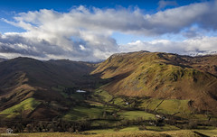 Boredale Head.. (CamraMan.) Tags: boredale head valley lakes hallinfell placefell bedafell clouds landscape canon6d canon1740mmlusm hills cumbria martindale ©camraman walls fields