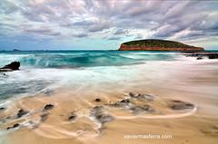Temporal (Xavier Mas Ferrá) Tags: temporal viento nubes olas platgesdescomte illadesbosc wind clouds mediterraneansea playa ibiza eivissa
