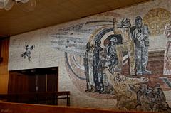 _DSC0012_cw (Wylf) Tags: soviet urss mozaika mosaic urbex cold war youri gagarine ussr hero urbexu history old