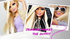 Jewelry makes the outfit (sailorb1959) Tags: barbie dolls fashion fever mattel britney spears brown eyes 2005 candies mackie iconic blonde extensions