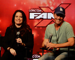 Charmed Combs Krause 0710s (ElvinC) Tags: saltlakecomiccon fanx17 fanx2017 hollymariecombs briankrause charmed