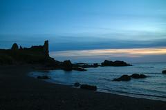 twightlight at dunure castle (thorburns) Tags: dunure castle sunset golden surpeise ayrshire scotland stunning