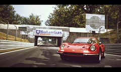 Dino 246 GT (Thomas_982) Tags: gt5 cars ferrari dino gt6 auto monza italy 246 outdoor red rosso classic ps3 gran turismo ps4