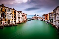 Grand Canal in Venice (sfabisuk) Tags: grand canal venice italy travel longexposure explore europe