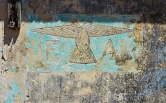 Eagles 1 (orientalizing) Tags: abandoned americans boiotia defunct desktop ellada erythres featured greece militarybase missilebase nikemissiledefense nuclear paint