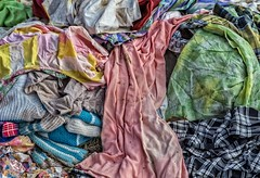 Discarded Clothes (Kool Cats Photography over 8 Million Views) Tags: colors clothing clothes garments abandoned usedclothes