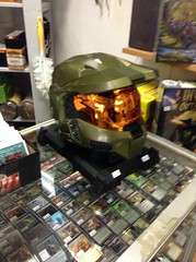 Master Chief Helmet (splinky9000) Tags: kingston ontario action packed comics earth day 32914 halo master chief helmet