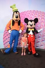 goofy and mickey at visa (Berlioz70) Tags: walt disney world epcot visa mickey goofy