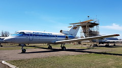 Yakovlev Yak.40 c/n 9030113 Aeroflot registration CCCP-87766 (Erwin's photo's) Tags: museum aviation krivyi rih krivoj rog kriviy rig ukraine university preserved aircraft yakovlev yak40 cn 9030113 aeroflot registration cccp87766 yak 40