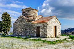 Archangel Michael, Kato Lefkara (georgeplakides) Tags: archangelos archangel michael katolefkara cyprus church byzantine wallpaintings stone dome