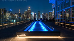 Press Lounge (20170324-DSC09305-Edit) (Michael.Lee.Pics.NYC) Tags: newyork presslounge ink48 aerial hotelview rooftop hellskitchen midtownmanhattan timessquare night sony a7rm2 fe2470mmf28gm symmetry reflection worldwideplaza
