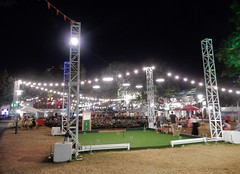 Croquet Arena (mikecogh) Tags: adelaide rcc royalcroquetclub festival fringe 2017 lights croquet pitch green