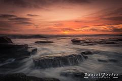 DSC_0017-1 (forbesy10) Tags: sea seascape waves tide sunrise clouds coast seatonsluice rocks northumberland