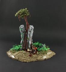 Indiana Jones (Wookieewarrior) Tags: indiana jones lego moc tree