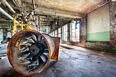 Somebody turn on the fan, it's hot in here! (StGrundy) Tags: detail lindalega pipes industrial abandoned texture decay textilemill lindalemill withmytamron urbandecay machinery valves