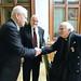 Harrach Péter, a Kereszténydemokrata Néppárt frakcióvezetője, Sajgó Szabolcs SJ jezsuita szerzetes és Henri Boulad egyiptomi jezsuita szerzetes