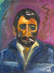DeGrazia Self-portrait (DeGrazia Gallery in the Sun) Tags: teddegrazia degrazia ettore ted artist galleryinthesun artgallery gallery nationalhistoricdistrict foundation nonprofit adobe architecture tucson arizona az catalinas desert paletteknife oil painting selfportrait
