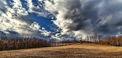 IMG_0832-36Ptzl1scTBbLGERM (ultravivid imaging) Tags: ultravividimaging ultra vivid imaging ultravivid colorful canon canon5dmk2 clouds sunsetclouds stormclouds earlyspring farm fields rural scenic vista evening pennsylvania pa panoramic trees rainyday