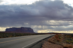 Road Trip Day 2 (TMLizzy Irwin) Tags: roadtrip utah traveling monumentvalley weather clouds sunsrays march2017