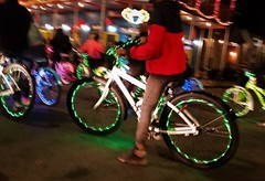 Night Lights (michael.veltman) Tags: nola new orleans street night colors bikes french quarter
