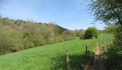 IMG_4299_4300 (Bike and hiker) Tags: ourthe aisne printemps lente