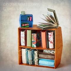 Origami Mini Library (Oriland) Tags: origamiminilibrary bookbindingwithfoldsalone paperback amazon orilandbook origami おりがみ 折り紙 paperdesign origamibykatrinandyurishumakov minibooks miniaturelibrary bookbinding orilandcom paper paperart toronto ontario canada