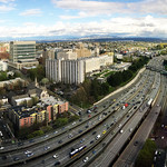 A break from the rain - looking over I-5 south from SMT 38 thumbnail
