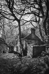 Out buildings of Talysarn Hall (ShrubMonkey (Julian Heritage)) Tags: talysarn hall dorothea quarry house slate disused derelict abandoned forgotten ruin ruined eerie landscape wales building secluded isolation mountains snowdonia sonyalpha cottage nantlle