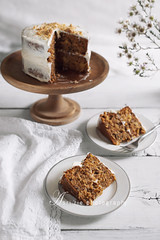 carrot cake (asri.) Tags: 2017 onwhite baking homemade foodstyling foodphotography 50mmf14