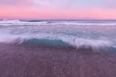 _DSC2506 (phatwhistle) Tags: michigan leelanau lakemichigan greatlakes waves grandtraversebay tokina beach water purple northport sand sky waterscape landscape
