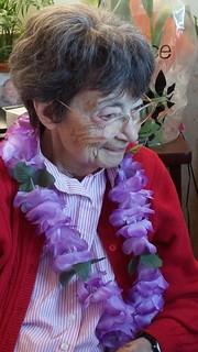 My sweet mom, at her 90th birthday celebration...
