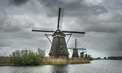 Windmills at Kinderdijk (Ludo_Jacobs) Tags: kinderdijk holland netherlands nederland molen windmolen mühle windmühle europe
