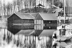 IMG_5947_ (maarcinwu) Tags: sailing blackandwhite canoneos6d 135mmf2l boats lake spring