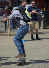 Skateboarding (swong95765) Tags: skateboard trick guy levitate jump midair concentration