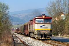 ZSSKC 751.037, Mn 86551 (Rudynko Čillo) Tags: zsskc zscs cargo 751 037 t478 1037 bardotka berta zamracena cecana mn 86551 slovensko slovakia orava parnica vlak train zug zeleznica žsr 181