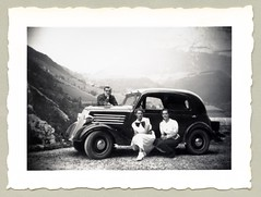 "Renault Celtaquatre (Vintage Cars & People) Tags: vintage classic black white ""blackwhite"" sw photo foto photography automobile car cars motor lady woman girl renault renaultceltaquatre celtaquatre celtaboule celtaball 30s thirties countryside alps alpen alpi alpine summit mountains mountainside"