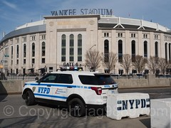 NYPD PBBX Police Patrol Car, Yankee Stadium, The Bronx, New York City (jag9889) Tags: 2017 20170412 al allamericacity americanleague architecture auto automobile ballpark baseball baseballteam bombers bronx building car finest firstresponder ford house lawenforcement majorleaguebaseball ny nyyankees nyc nypd nyy newyankeestadium newyork newyorkcity newyorkcitypolicedepartment newyorkyankees outdoor pbbx pinstripes policedepartment policepatrolcar suv southbronx sportutilityvehicle stadium thebronx thebronxbombers theyanks transportation usa unitedstates unitedstatesofamerica vehicle yankeestadium yankeestadiumiii yankees jag9889