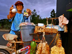 cigarette vendor (DOLCEVITALUX) Tags: cigarettevendor cigarette vendor philippines bicycle outdoor