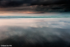 Mirror (aland67) Tags: seascape landscape beach new zealand north island leefilters leendhard09 waves tide incomingtide sand clouds alanddewit opitiki waiotahi south pacific longexposure