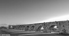 Aqueduct Ruins (Atif_M_Khan) Tags: nature landscape travel pentax ocean historical shadows sigma ruins jamaica shadow history aqueduct rose hall