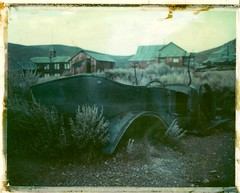 Bodie#5 (Andrew Bartram (WarboysSnapper)) Tags: polaroid roidweek 669 expiredfilm 100packfilm peelapart landcamera 250landcamera bodie statepark ghosttown film believeinfilm instantphotography instant usa california