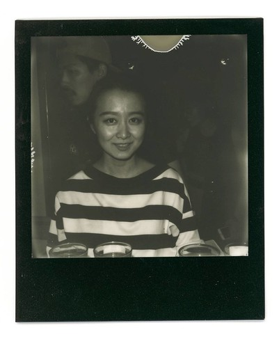 . #Polaroid #slr680 #blackandwhite #blackandwhitefilm #signlesscafe #girl #lady #friends #friend #signless #filmphotography #filmphotographic. #meaninglessart #canton #citylife #city #life #impossible #廣州 #広州 #寶麗來 #無謂藝術 #無牌咖啡
