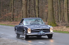 1966 Mercedes Benz 230SL AE-89-23 (Stollie1) Tags: 1966 mercedes benz 230sl ae8923 rhenen