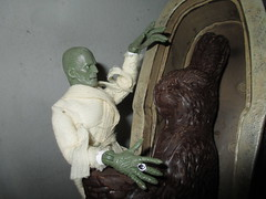 Boris Karloff - Imhotep with Easter Mummy Bunny Rabbit 4716 (Brechtbug) Tags: boris karloff imhotep with easter mummy bunny rabbit 2017 monster dusty action figure universal monsters new york city egypt egyptian pharaoh bandage wrapping wrapped ash covered ancient antediluvian archeology museum excavation pyramid sphinx tomb dig sand desert creature its alive scary horror terror halloween fright toy toys shadow twist corpse case mummies sarcophagus sideshow chocolate eeeaster