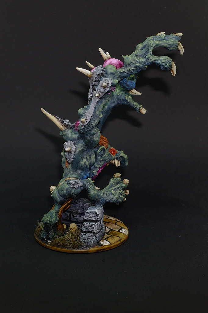 Zombicide Black Plague Painting Abomination