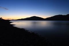Glenelg, Scotland, Sunset (mplatt86) Tags: scotland glenelg loch longexposure sunset winter sun beach water highlands stones blue sky skye