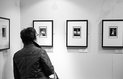 Gallery #2, May 2013 (Dave Green Photo) Tags: leica bw film mono blackwhite gallery kodak nt trix may exhibition analogue nationaltrust m6 blackgrey laycockabbey 2013
