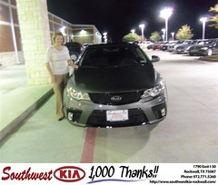 Southwest KIA of Rockwall would like to wish a Happy Birthday to Christi Cherry! (Southwest Kia Rockwall) Tags: new southwest car sedan truck wagon happy dallas texas tx used vehicles mesquite bday dfw kia van suv coupe rockwall dealership hatchback dealer customers minvan 4dr metroplex shouts 2dr preowned